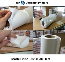 """Everyday Matte Poly Banner 36"""" x 200' for HP DesignJet Inkjet Aqueous Printers"""