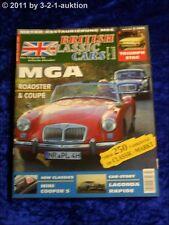 British Classic Cars 3/06 MGA Coupe & Roadster Triumph Stag Mini Cooper S Lagond