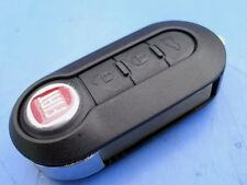 NEW 3 BUTTON FLIP REMOTE KEY FOB, FIAT 500, PUNTO EVO, ABARTH, FORD KA BIPPER+++