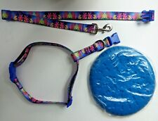 Dog/Puppy Collar and Lease Set with Frisbee