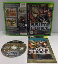 Console Game Gioco Microsoft XBOX Play Americano NTSC USA con ITA - BRUTE FORCE