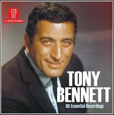 Tony Bennett : 60 Essential Recordings CD (2018) ***NEW*** Gift Idea Best Of 3CD