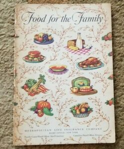 1950 FOOD FOR THE FAMILY Metropolitan Life Insurance Company Advertising Booklet