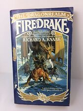 Richard A Knaak Dragonrealm Firedrake Fiction Paperback 1989