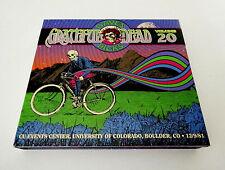 Grateful Dead Dave's Picks 20 University of Colorado Boulder CU CO 12/9/1981 CD