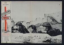 FOTOBUSTA 1, DESTINAZIONE TUNISI Steel Bayonet LEO GENN, CARRERAS WAR POSTER