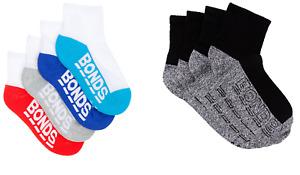 4 Pairs X Bonds Kids 1/4 Crew Socks - Quarter Sports Socks