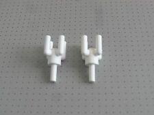 LEGO - 2 Bianco Lampada titolari/PALMA Tops-buone condizioni (2566)