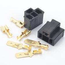 1Set/8pcs H4 HB2 9003 Male Female HID Xenon Bulbs Terminal Socket Plug Connector