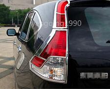 Chrome Rear Tail light lamp cover trim 4pcs for Honda CRV CR-V 2012 2013 2014