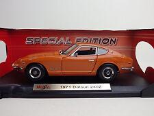 NISSAN Datsun 240Z ( FAIRLADY Z S30 ) 1971  Orange  1:18 Maisto USED