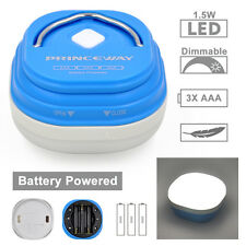 Dimmable Battery Operated LED Camping Light Tent Lantern Lamp Camping Equipment