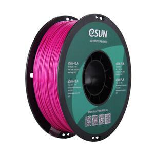 Silk Violet - eSUN eSILK PLA (Metallic) - 1.75mm 3D Printer Filament 1KG/2.2lb