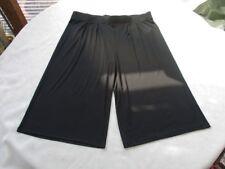 Jersey Culotte L 42 44 46 Schwarz fein.Viskose Elasthan Capri Hose schick+bequem