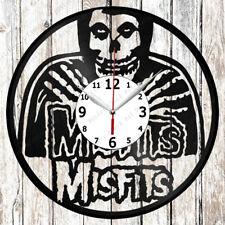 Misfits Vinyl Wall Clock Made of Vinyl Record Original gift 2636
