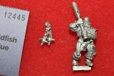 Games Workshop Warhammer Chaos Marauder with Flail Metal Figure Fantasy 1990s E6