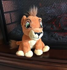 "Disney Lion King 2 Kovu Simba's Pride Scar's Son Just Play Plush Stuffed Toy 7"""