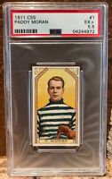 1911 Imperial Tobacco Co C55 #1 Paddy Moran PSA 5.5  HOF Goalie