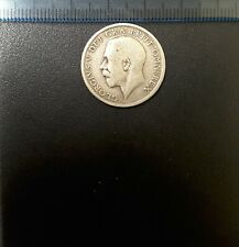 SPECIAL OFFER. SHILLING 1915. 92.5% SILVER.  GREAT BRITAIN. UK.