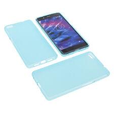 Tasche für MEDION Life S5004 Handytasche Schutz Hülle TPU Gummi Case Blau