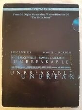 Unbreakable Dvd Bruce Willis, Samuel L. Jackson - Combine Shipping & Save!
