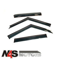 LAND ROVER DISCOVERY 1 1989 TO 1998 SET OF 4 WIND DEFLECTORS TERRAFIRMA. TF660