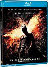 EL CABALLERO OSCURO LA LEYENDA RENACE EN BLU RAY NUEVO ( SIN ABRIR ) BATMAN