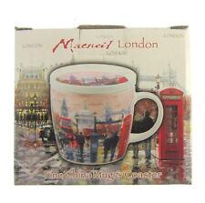 Londres Tasse avec coaster cadeau tasse emballé