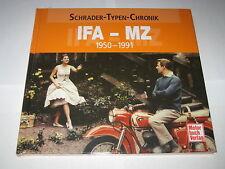 Schrader Typen Chronik IFA MZ Motorräder RT 125 / ETZ 150 / 250... Bildband