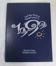 1999 Yearbook Bonita Vista Middle School, Chula Vista CA, Nostalgia
