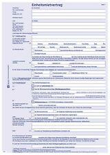 Einheits-Mietvertrag Zweckform 2873 A4 Wohnung oder Haus mit Übergabeprotokoll