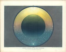 1846 Map POSTER Universe According Holy Scriptures Pictorial Muggletonian #6