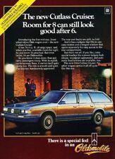 1984 Oldsmobile Cutlass Ciera Cruiser Wagon Advertisement Print Art Car Ad J868