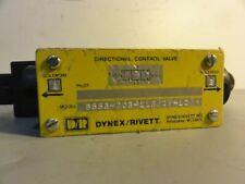 Dynex Rivett Directional Control Valve Mn 6553 D03 115df 10 New Open Box