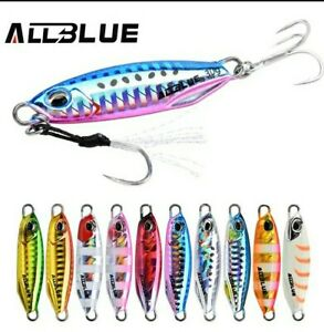 Artificiale Spinning Metal  Jig Allblue 40  Gr-  New Drager