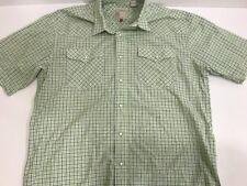 roper western shirt mens large