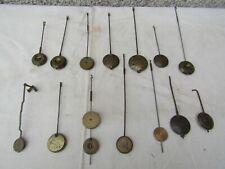 lot de 14 balancier horloge pendule