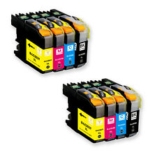 8 PK New Ink Set  for Brother Series LC203 LC201 MFC J460DW J480DW J485DW J680DW