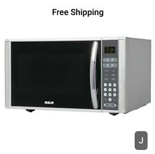 New, RCA 1.1 Cu. Ft. Microwave Oven, Stainless Steel. W/10 power levels. 1000 Wt