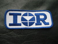 IR EMBROIDERED SEW ON ONLY PATCH
