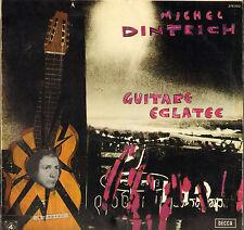"""MICHEL DINTRICH """"GUITARE ECLATEE"""" 70'S LP EXPERIMENTAL dédicacé !"""