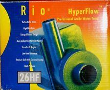 TAAM RIO HYPERFLOW WATER PUMP 26HF 1590 GPH