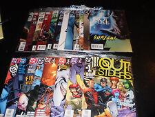 Large Lot Outsiders DC Comics 25 Issues 2003-07