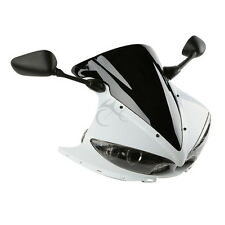 Unpainted ABS Upper Fairing Cowl Combo For Yamaha YZF R6 YZFR6 2003-2005 2004