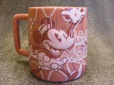 NEW Disney Store Raised 3D MINNIE MOUSE COFFEE MUG TEA CUP