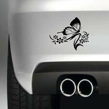 Butterfly Flower Funny Car Bumper Sticker. Drift Van Vinyl Decal Graphic Laptop