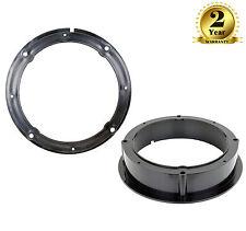 CT25VW01 165mm Front/Rear Door Speaker Adaptor Brackets For Seat Leon, Toledo