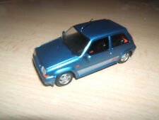 Renault super5 GT Turbo bleue By Universal Hobbies  1/43
