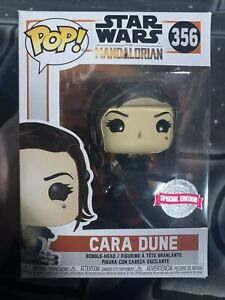 Star Wars The Mandalorian Funko Pop  356 Cara Dune With Rifle Special edition