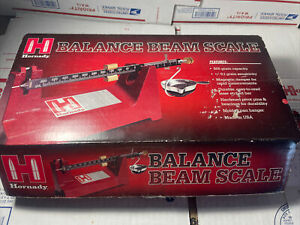 HORNADY BALANCE BEAM LOCK N LOAD POWDER SCALE….ESTATE SALE…CHECK IT OUT!!!!